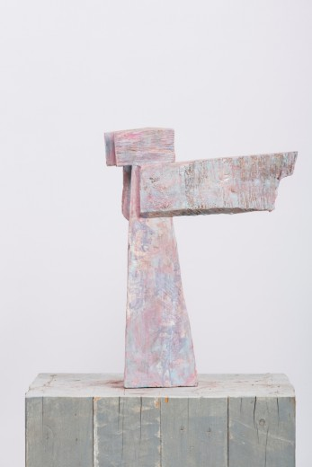 Jan Koblasa, Angel, wood, height 40 cm, 2013