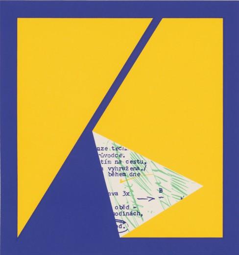 Rub, 1990, serigrafie z cyklu Ruby, 17,8 × 17,2 cm